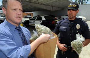 police marijuana