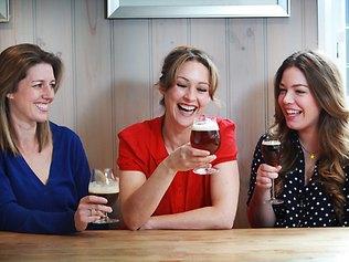 women-drinking-craft-beer